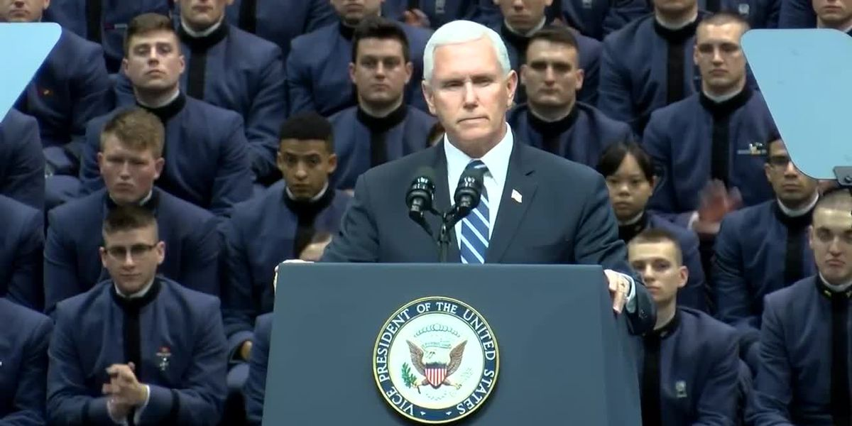 RAW VIDEO: Vice President Mike Pence speaks at The Citadel
