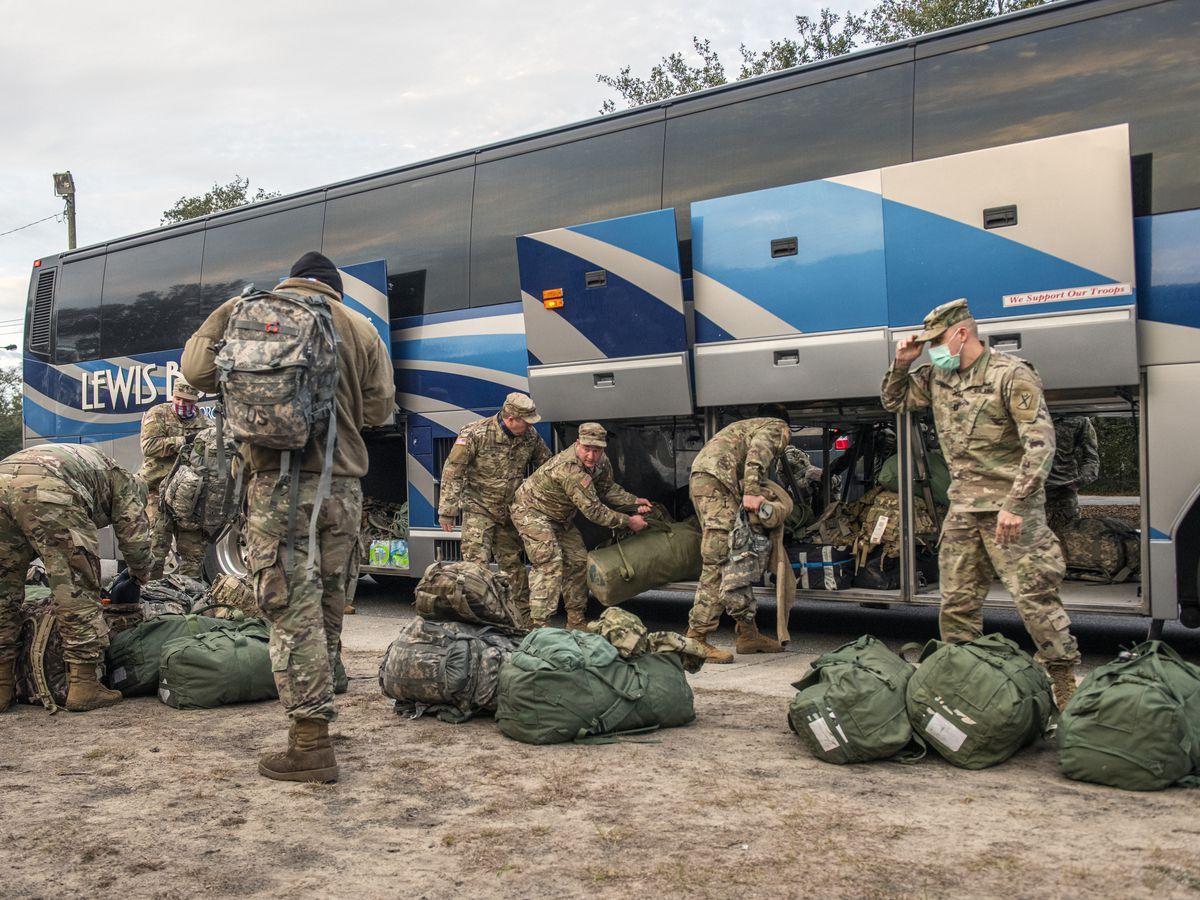 South Carolina National Guard returns to Mount Pleasant following DC deployment