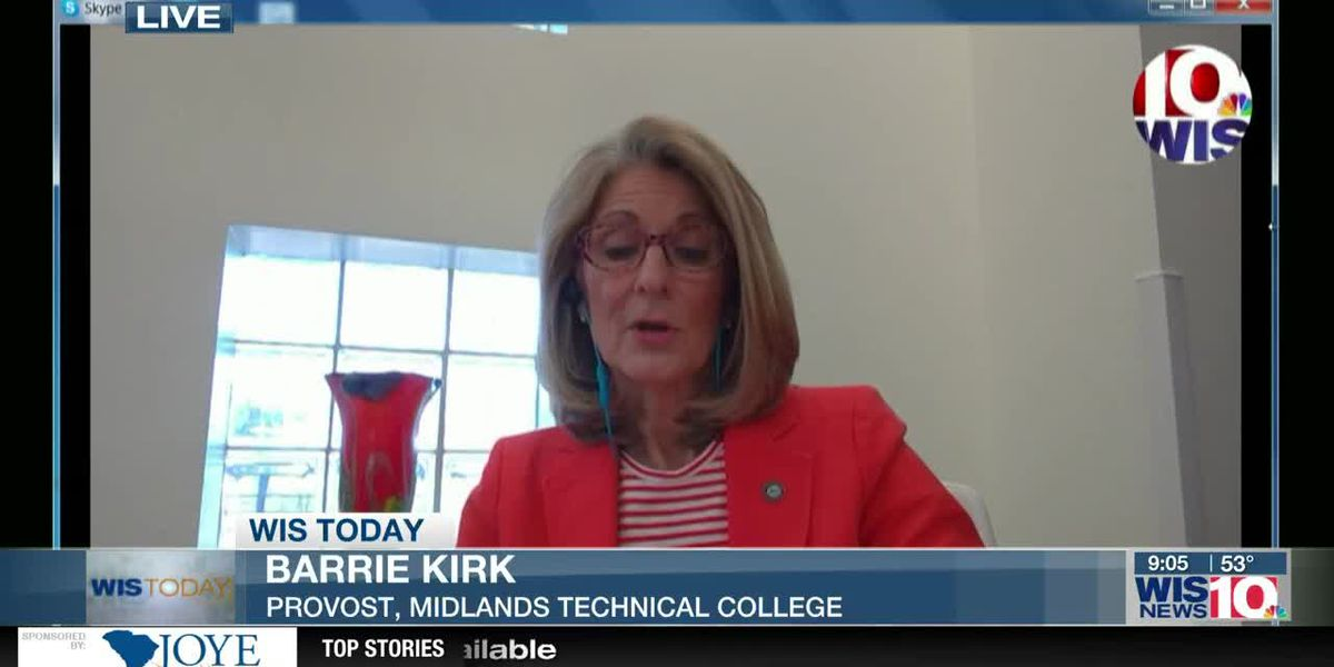 WIS TODAY: Barrie Kirk discusses essential training, opportunities for HS students at Midlands Tech