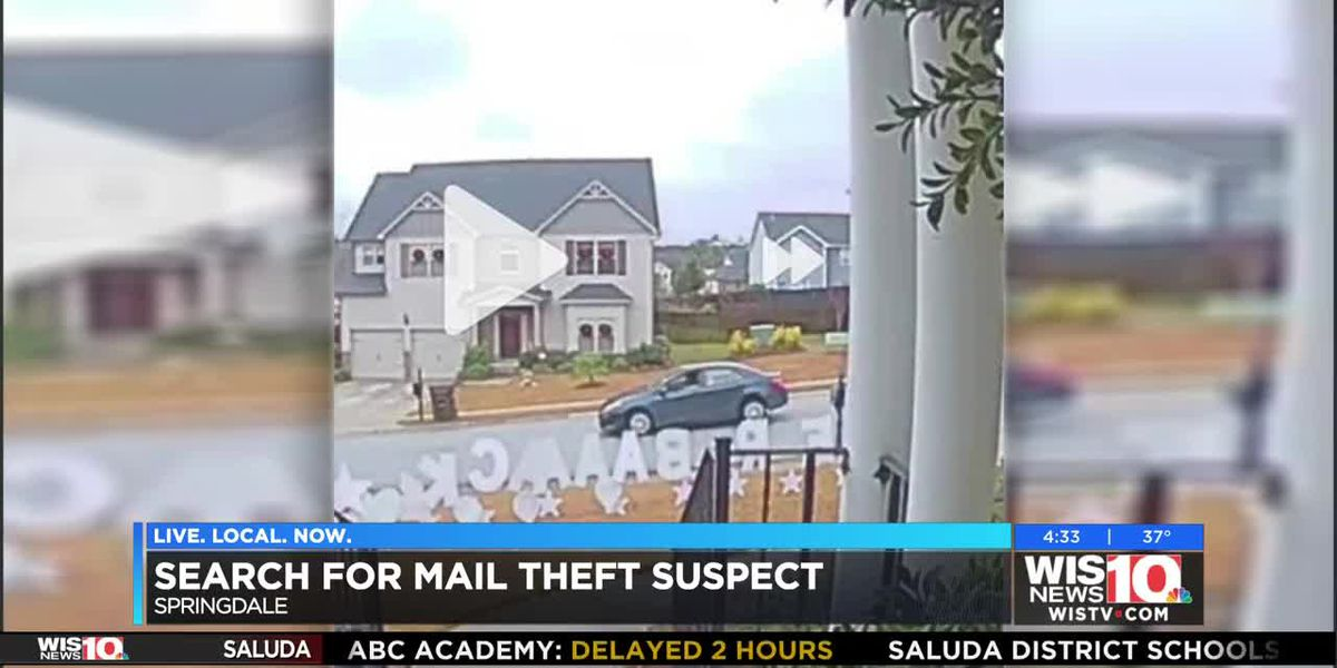 Search for mail theft suspect