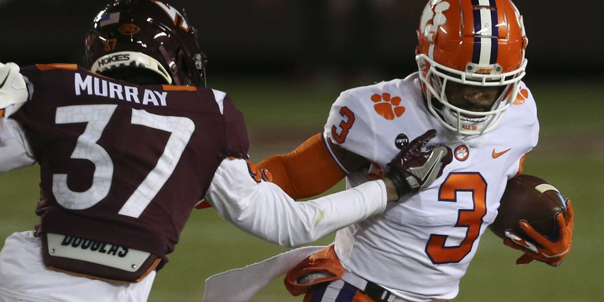 Clemson holds No. 3 spot in latest College Football Playoff rankings
