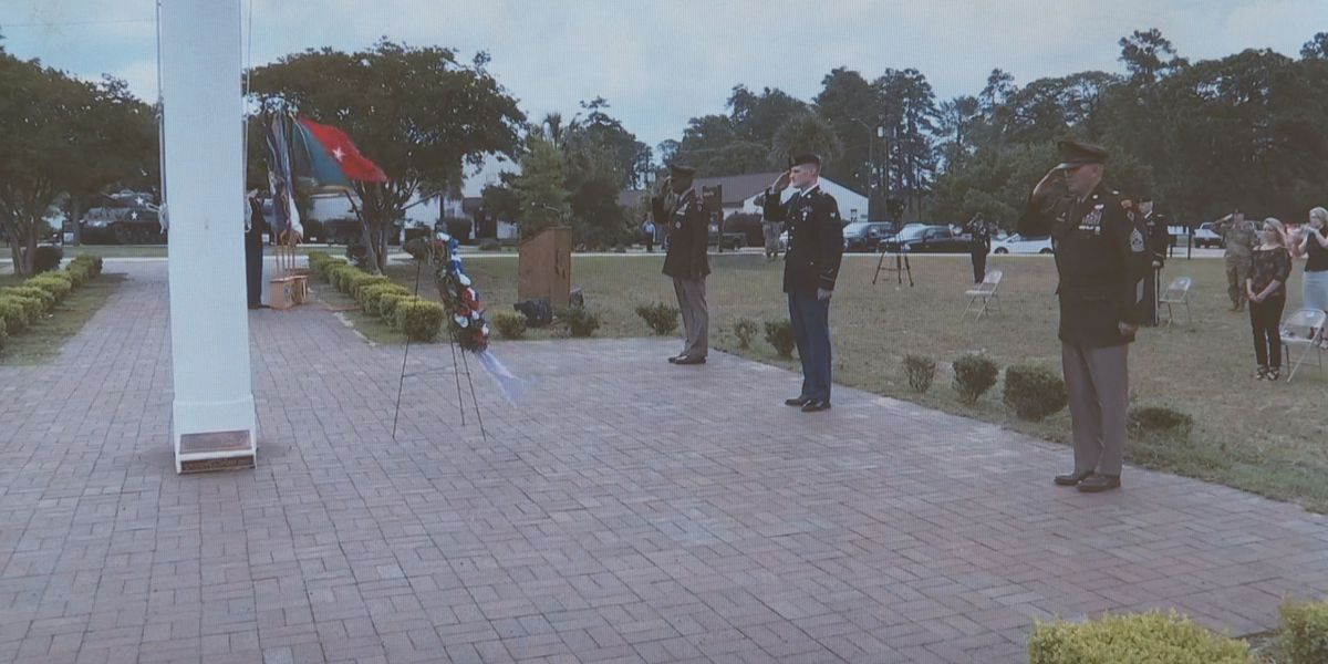 Hundreds watch Fort Jackson's virtual Memorial Day ceremony