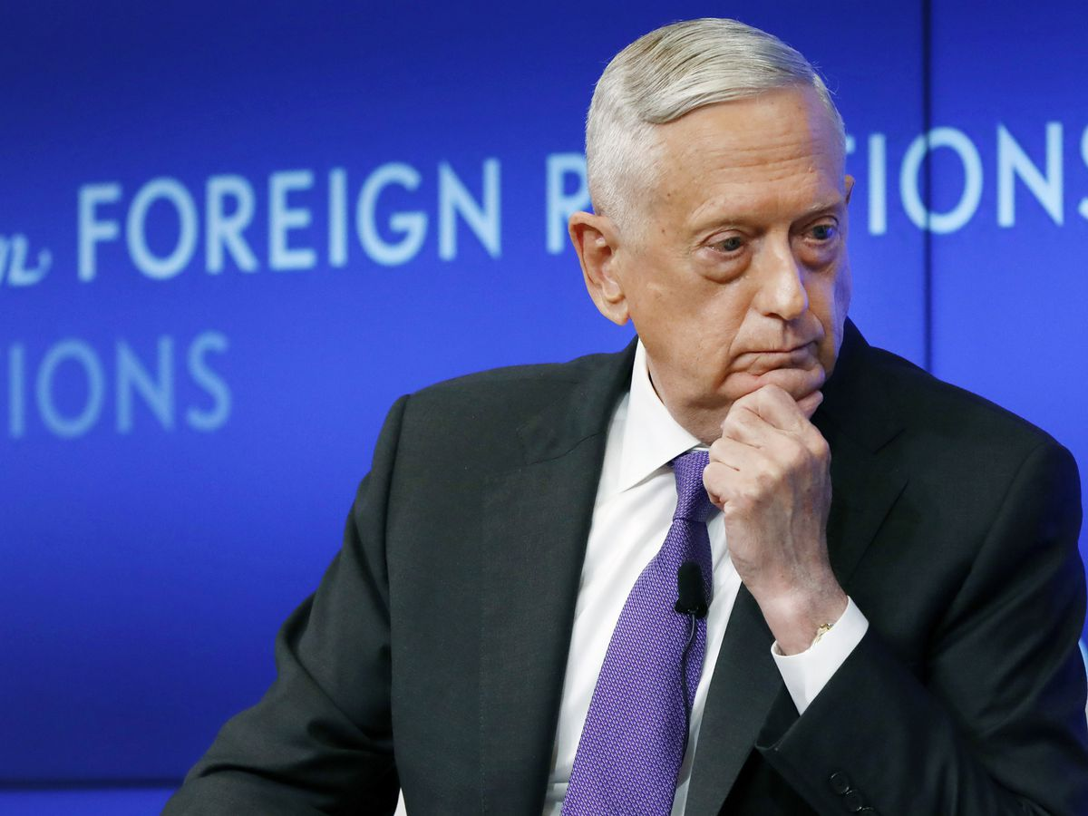 Ex-defense chief Mattis rips Trump for dividing Americans
