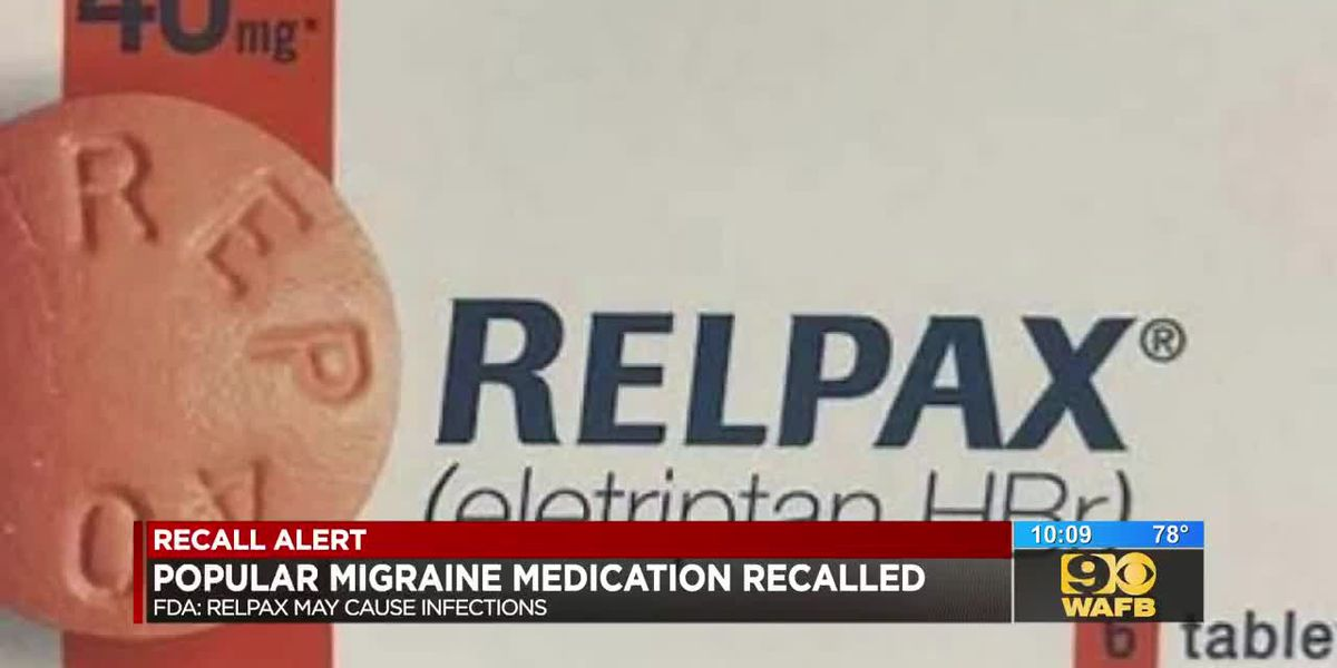 Migraine medication pulled from shelves over possible contamination