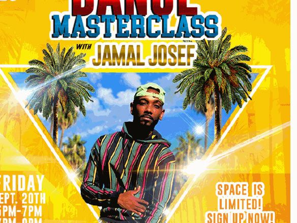 Columbia Dance Masterclass sessions with Jamal Josef, 'Beychella' choreographer