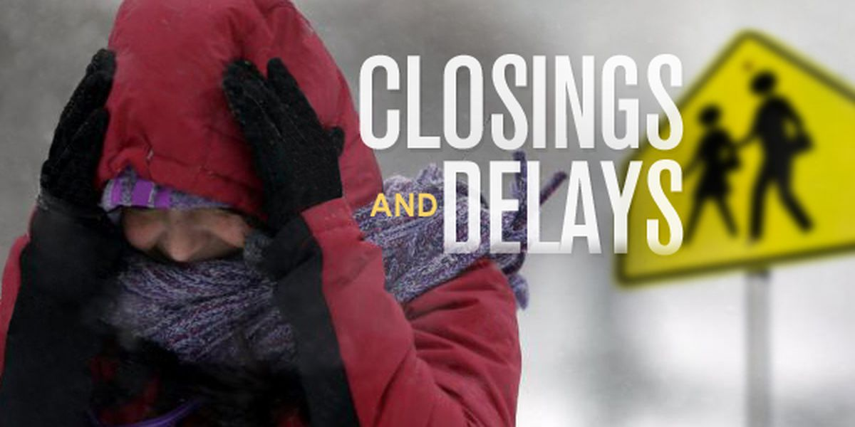 Newberry County Schools: No after-school activities Thursday, 2-hour delay Friday due to weather