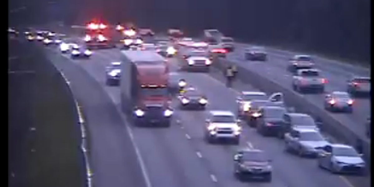 Lanes reopened on I-20 West following collision near Monticello Road