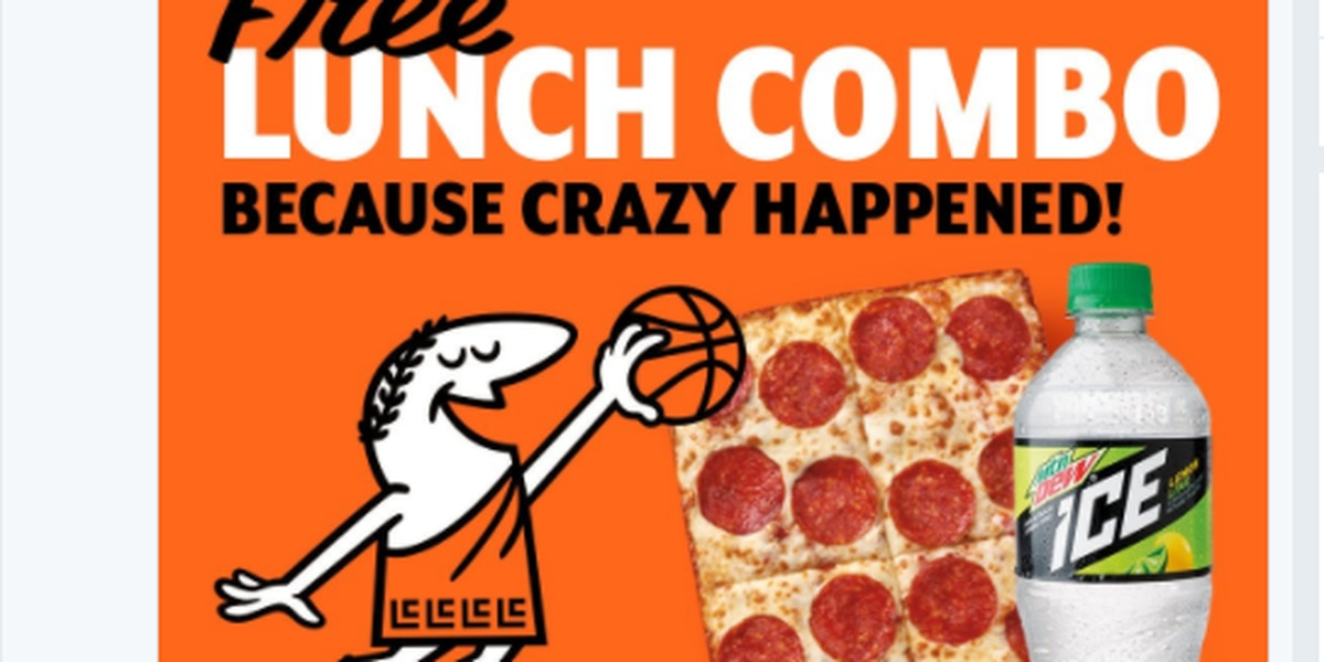 Since No. 1 seed Virginia blew it, Little Caesar's is giving away free pizza