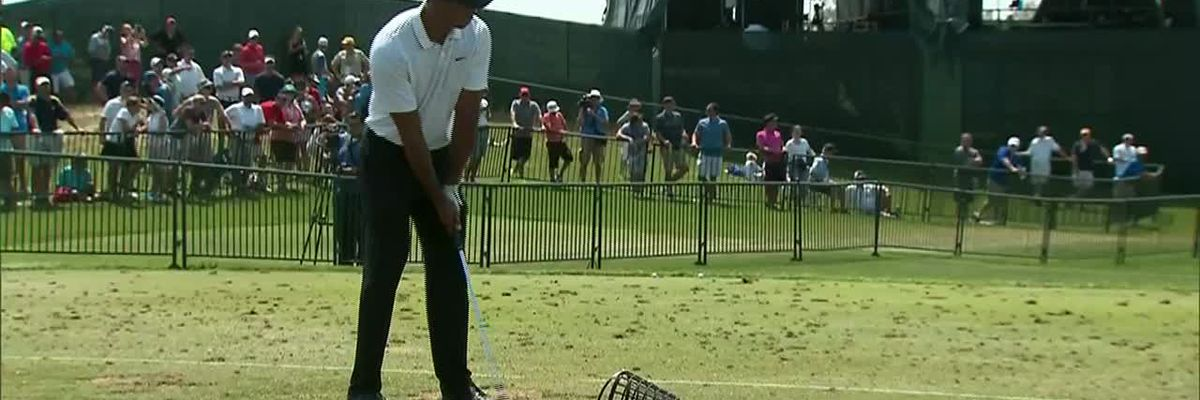 Tiger Woods accident dispatch audio