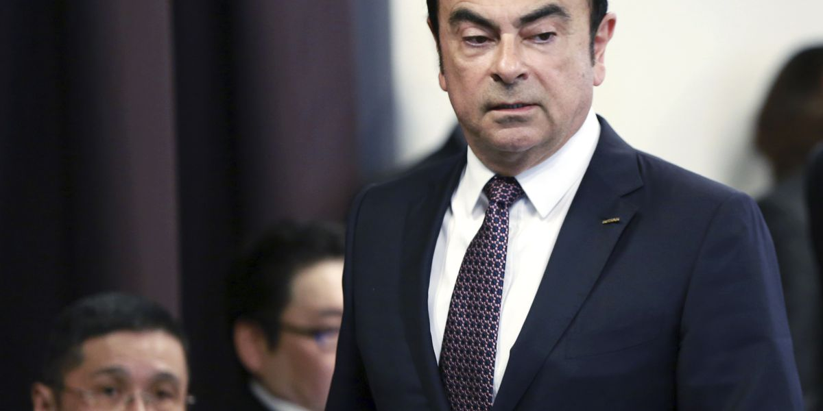 Renault: no wrongdoing by Ghosn in compensation