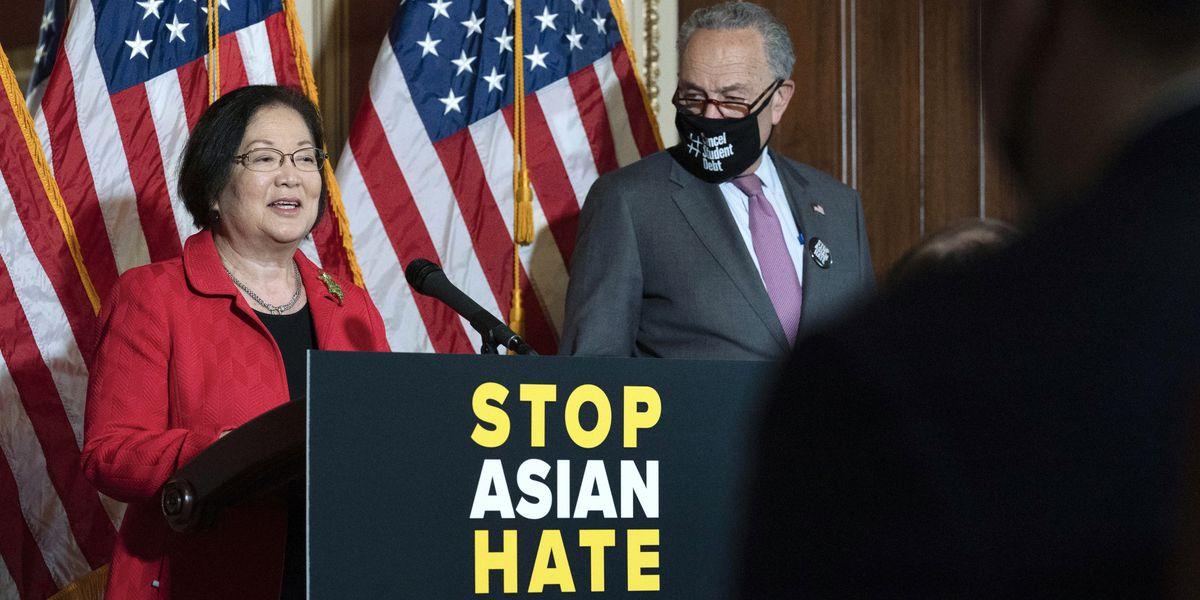 Senate breaks filibuster on Asian-American hate crime bill