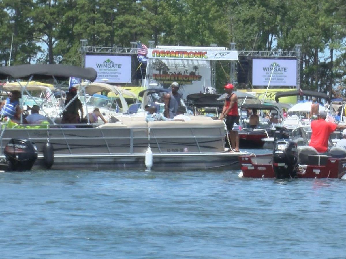 Reggaetronic Music Festival kicks off on Lake Murray for a good cause