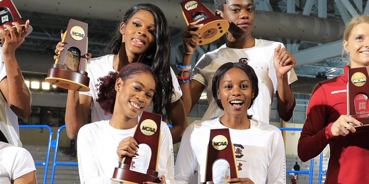Carolina sprinters put it all together to win NCAA title