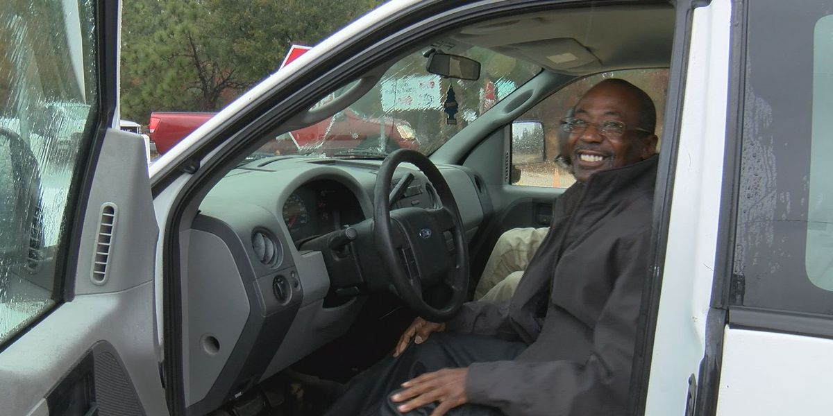 A Columbia man lost his work truck to thieves, but the community has rallied behind him to help