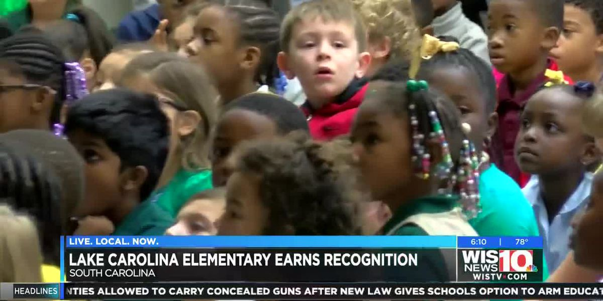 Lake Carolina Elementary recognized as Special Olympics Unified Champion