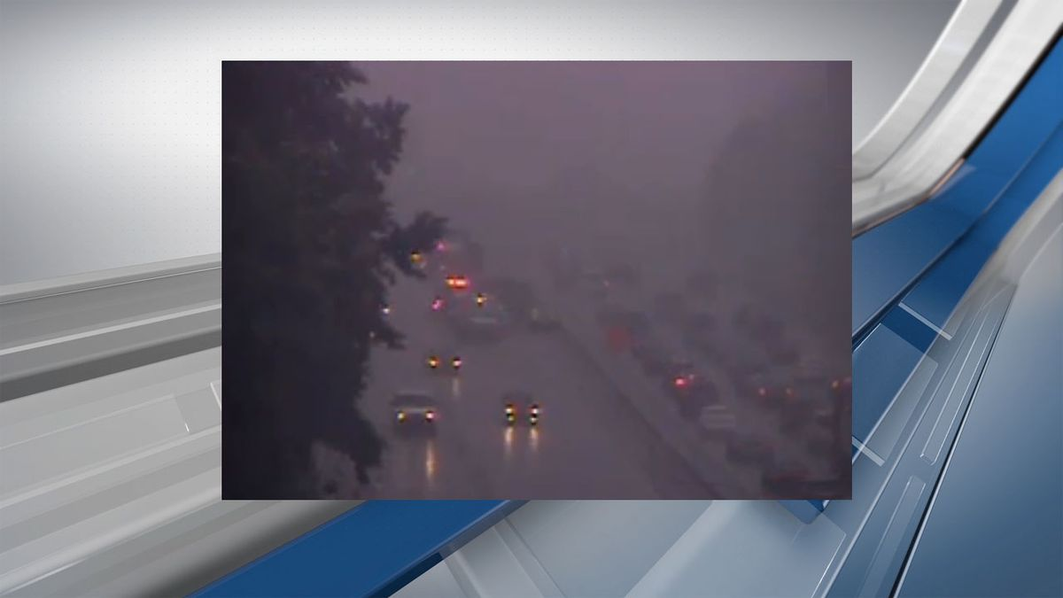 Lanes reopened after crash on I-20 East near Fairfield Road