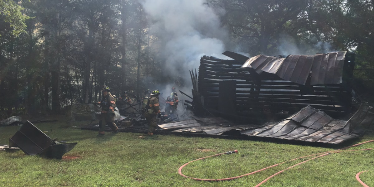 LCFS responds to barn fire in Chapin