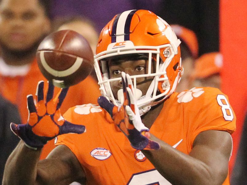Clemson WR Ross ruled out for season with upcoming surgery