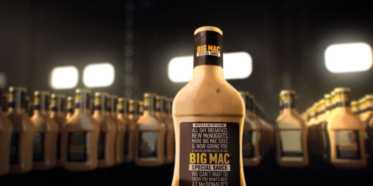 People hawking McDonald's special sauce online for thousands