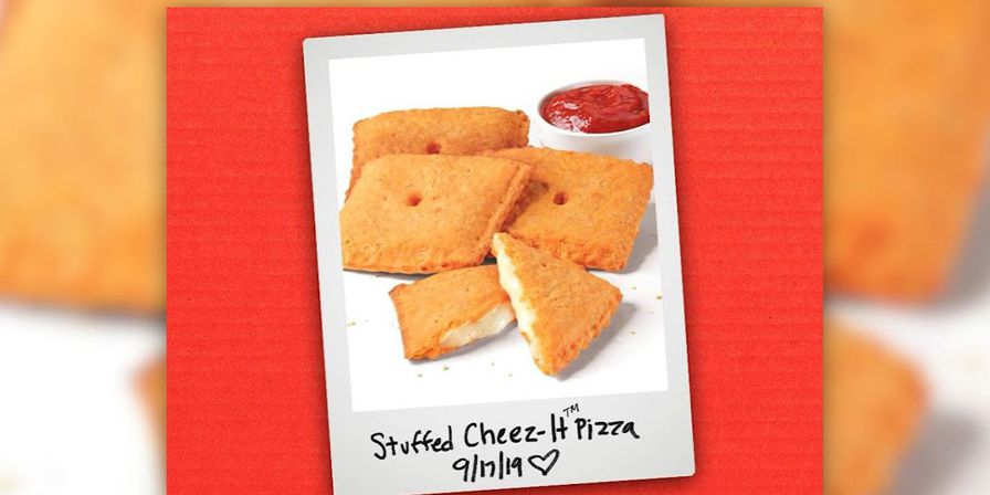 Pizza Hut joins forces with Cheez-It for new stuffed pizza