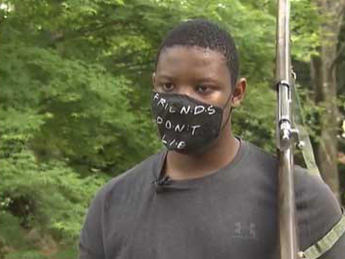 Neighbor calls police on Black teenager practicing ROTC drills in neighborhood