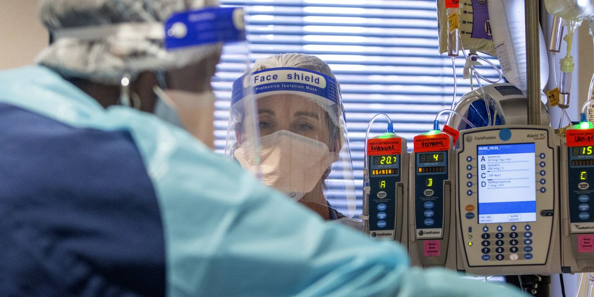 'We're getting tired:' S.C. nurses share experience inside COVID units