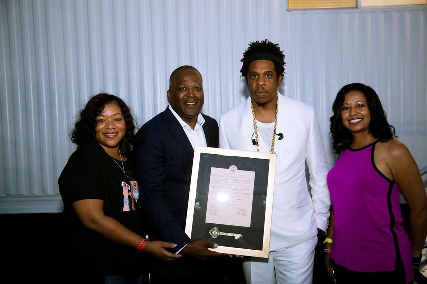 huge selection of 0853a 8828a City of Columbia Mayor Steve Benjamin honored Beyonce and Jay-Z with the  key to