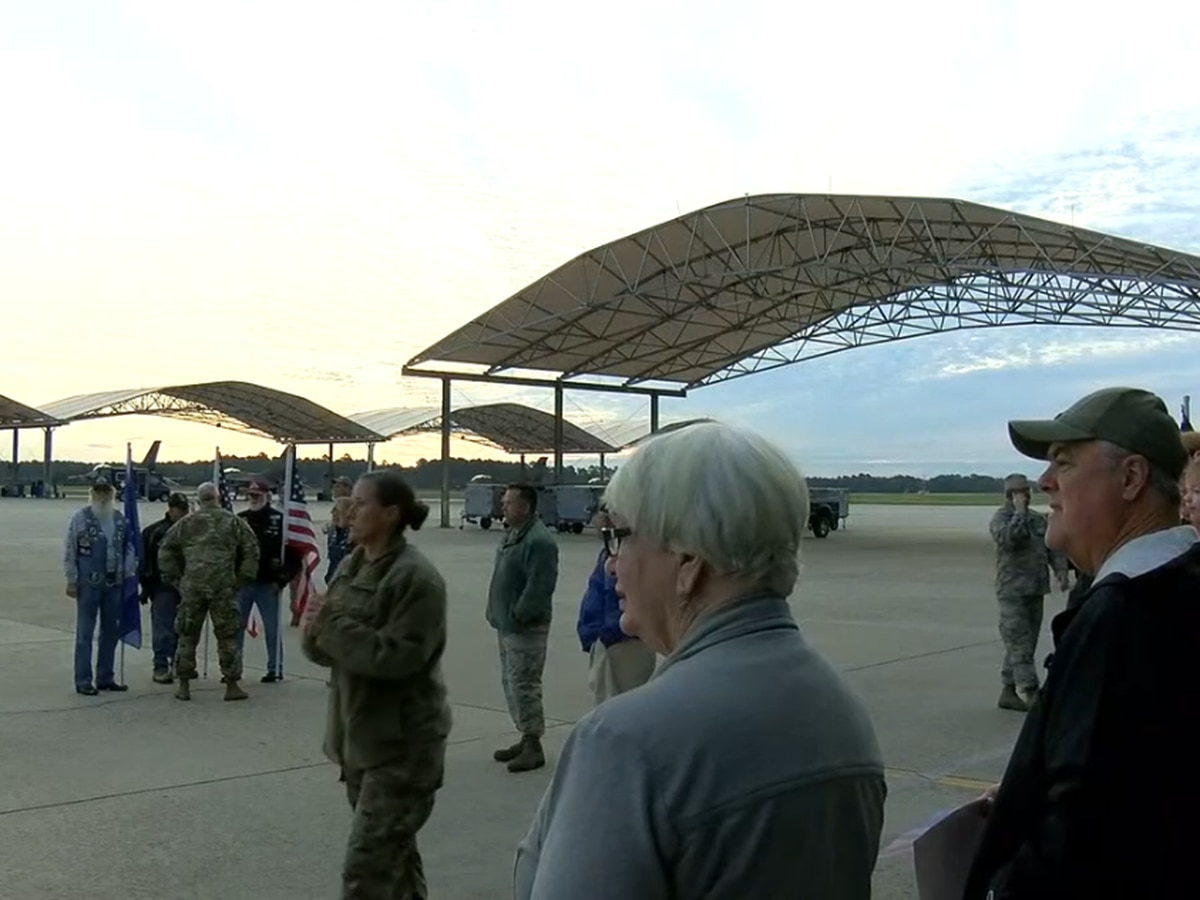 S.C. Air National Guard's 169th Fighter Wing returns home