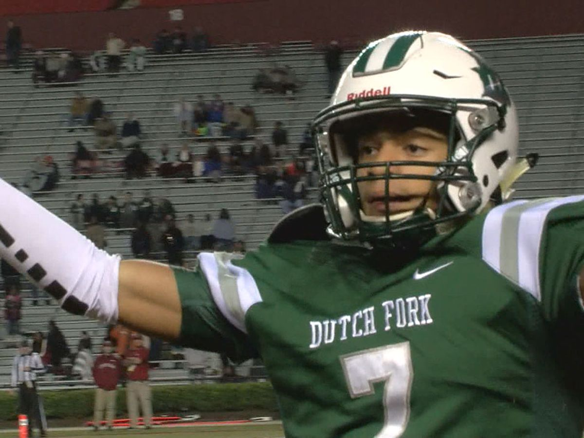 Dutch Fork football star reopens recruitment ahead of senior campaign