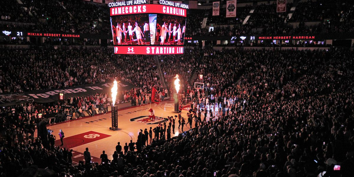 UofSC receives approval to host limited number of fans for men's, women's basketball