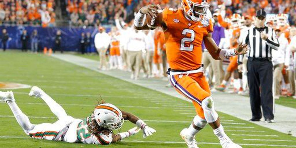 Clemson dominates Miami to clinch ACC title, playoff spot