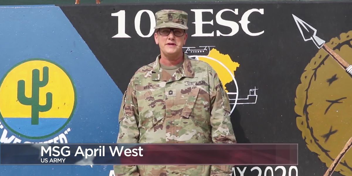 Military Greetings - Master Sgt. April West