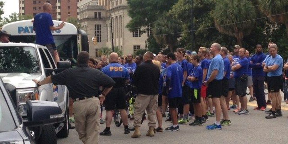 Law enforcement torch run ushers in Summer Games for Special Olympics SC