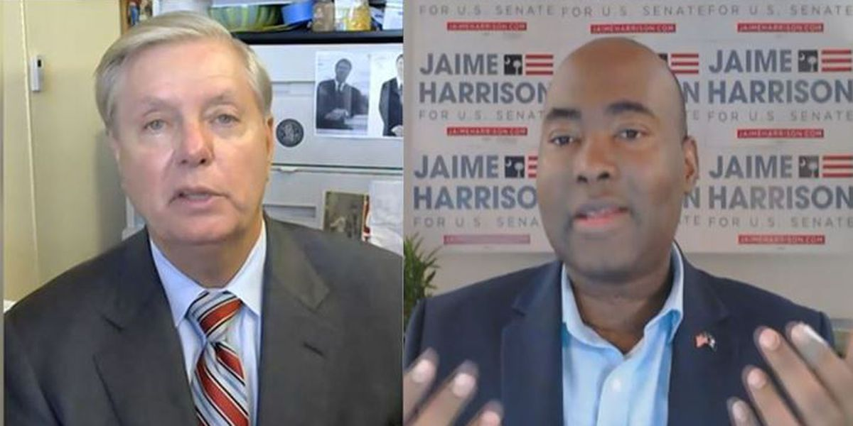 Graham, Harrison face off in final Senate debate just days before election