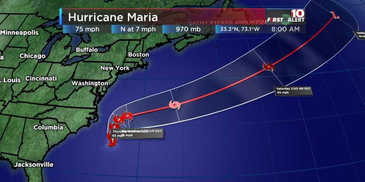 FIRST ALERT: Hurricane Maria continues moving north, evacuations ordered for parts of Outer Banks