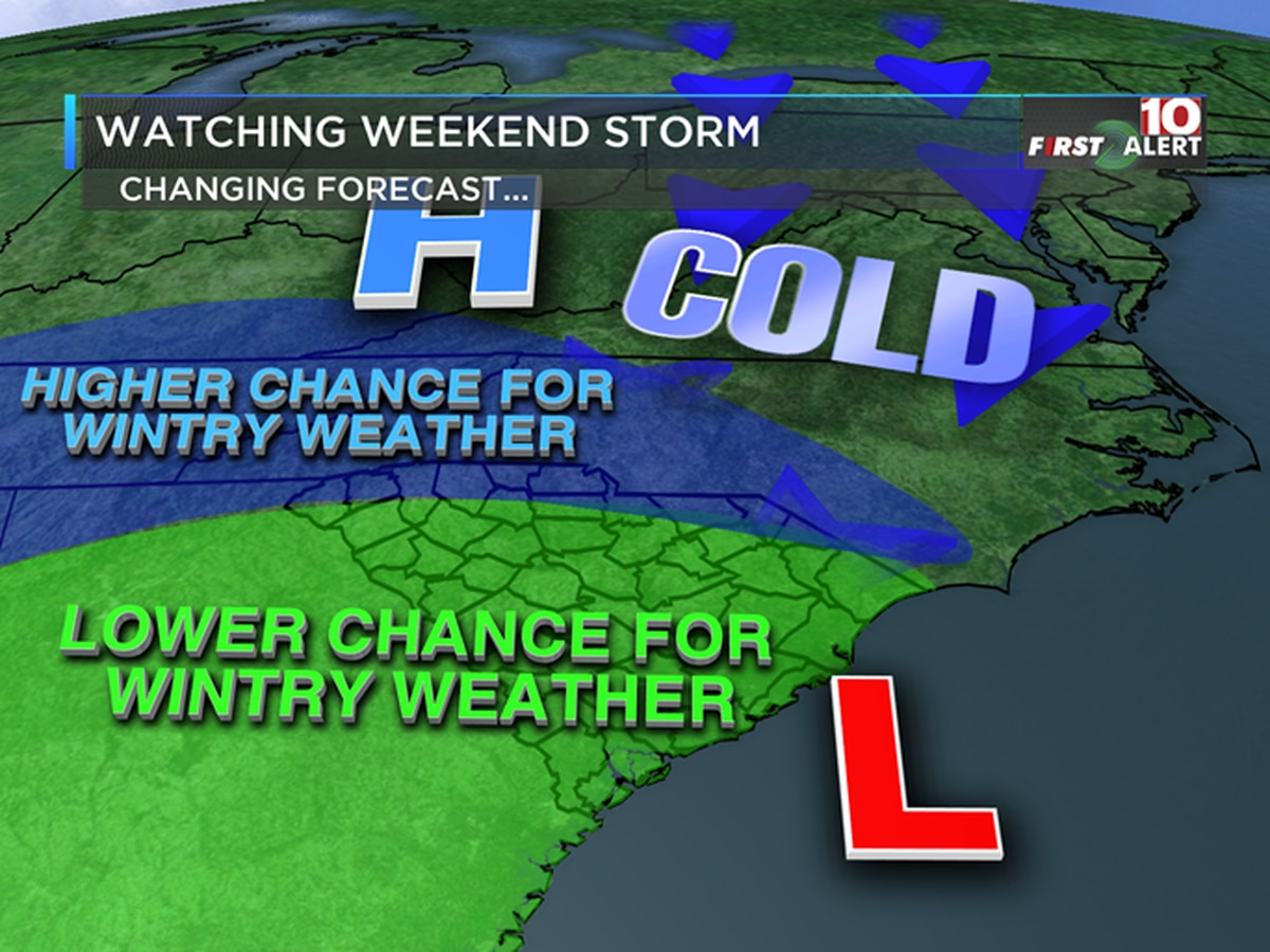 FIRST ALERT: Colder the next few days - Watching the weekend