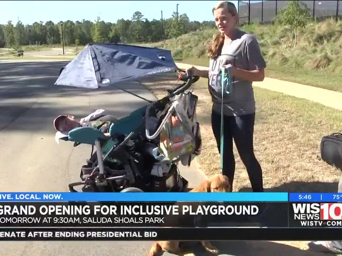 Grand opening for Saluda Shoals Park's Universally Inclusive Playground
