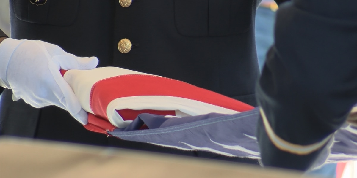 Dozens say farewell to unclaimed Midlands veteran