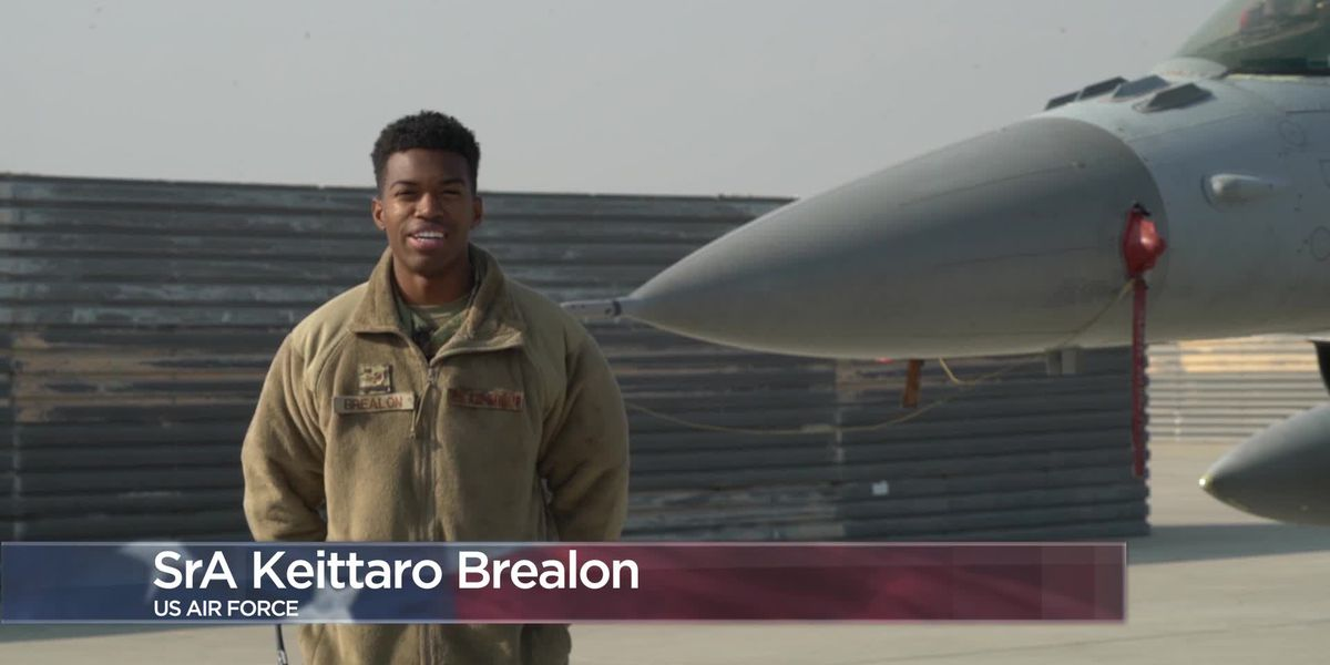 Military Greetings - Senior Airman Keittaro Brealon
