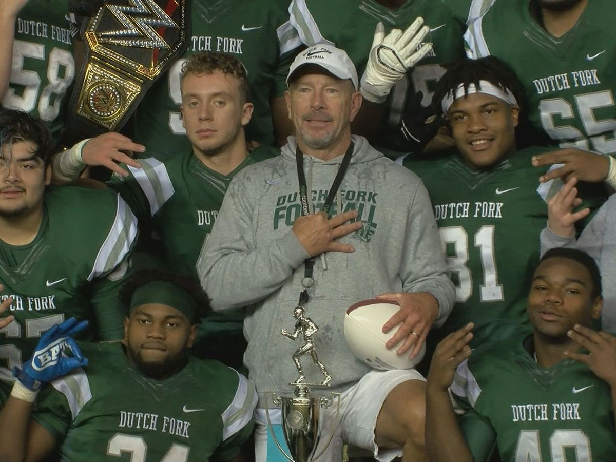 Dutch Fork completes perfect season to capture third consecutive state title