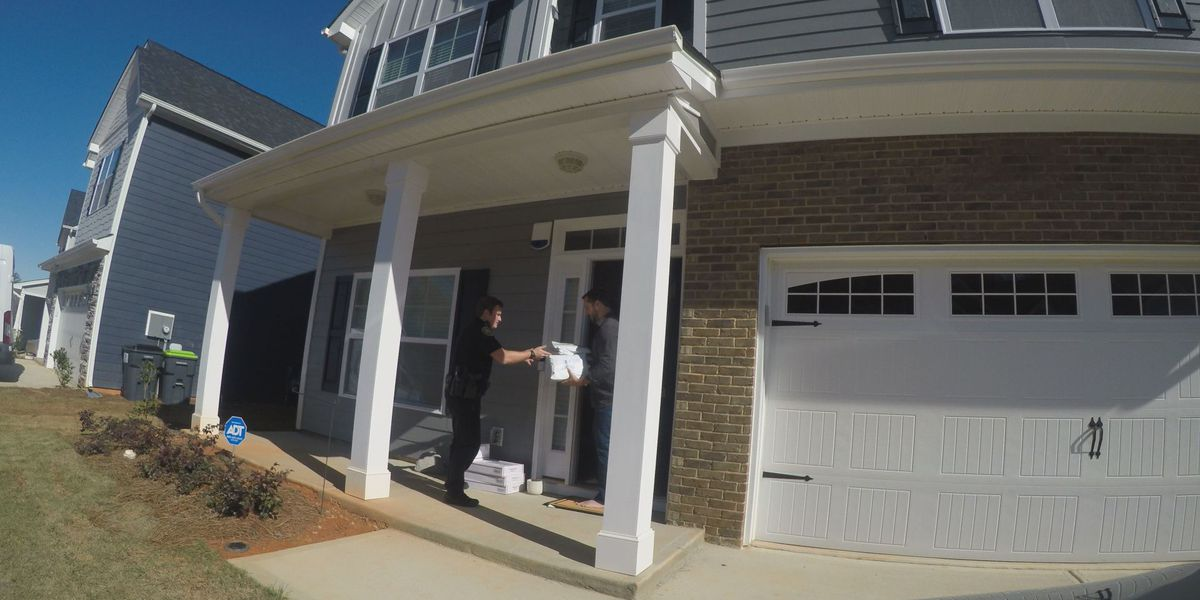 'It's a matter of seconds': Lexington County deputies crack down on porch pirates