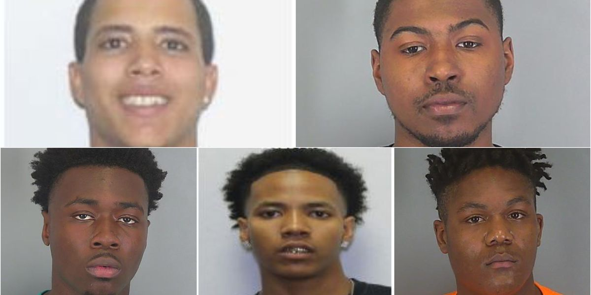 Spartanburg Co. Sheriff: 5 arrested in connection with shooting death of Evan Gaines