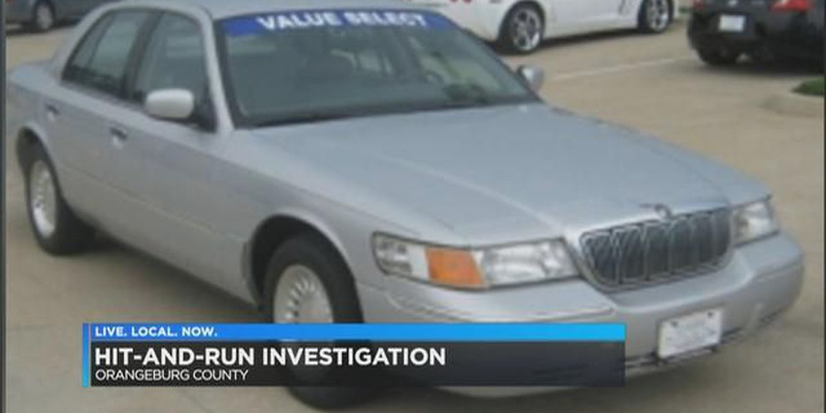 Troopers search for car involved in Orangeburg Co. hit-and-run