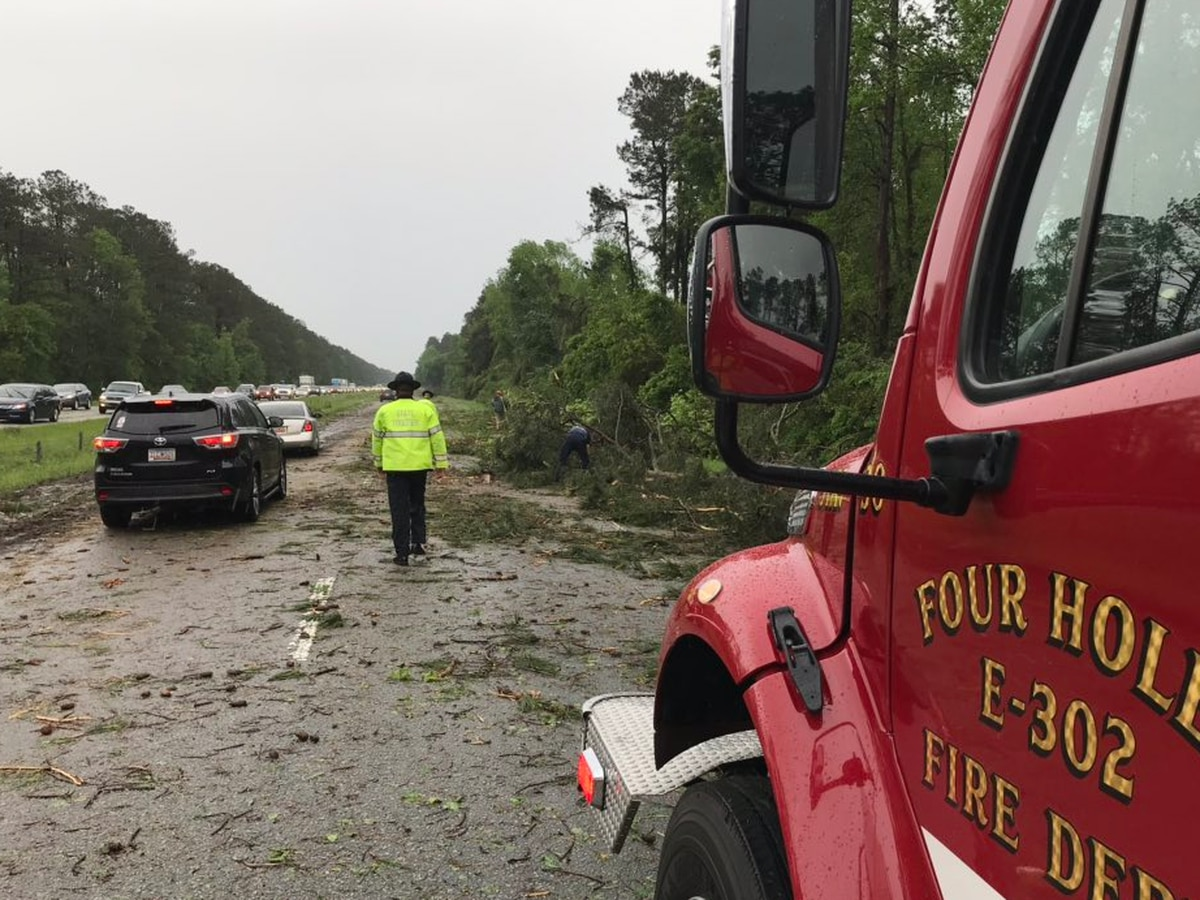 Multiple tornadoes confirmed so far in the Midlands from Friday's storms