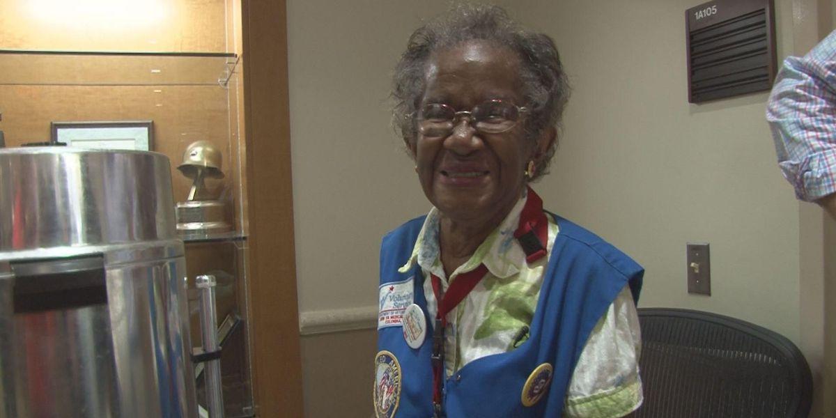 Community Builder: 84-year-old Dorn VA volunteer serves up coffee and smiles