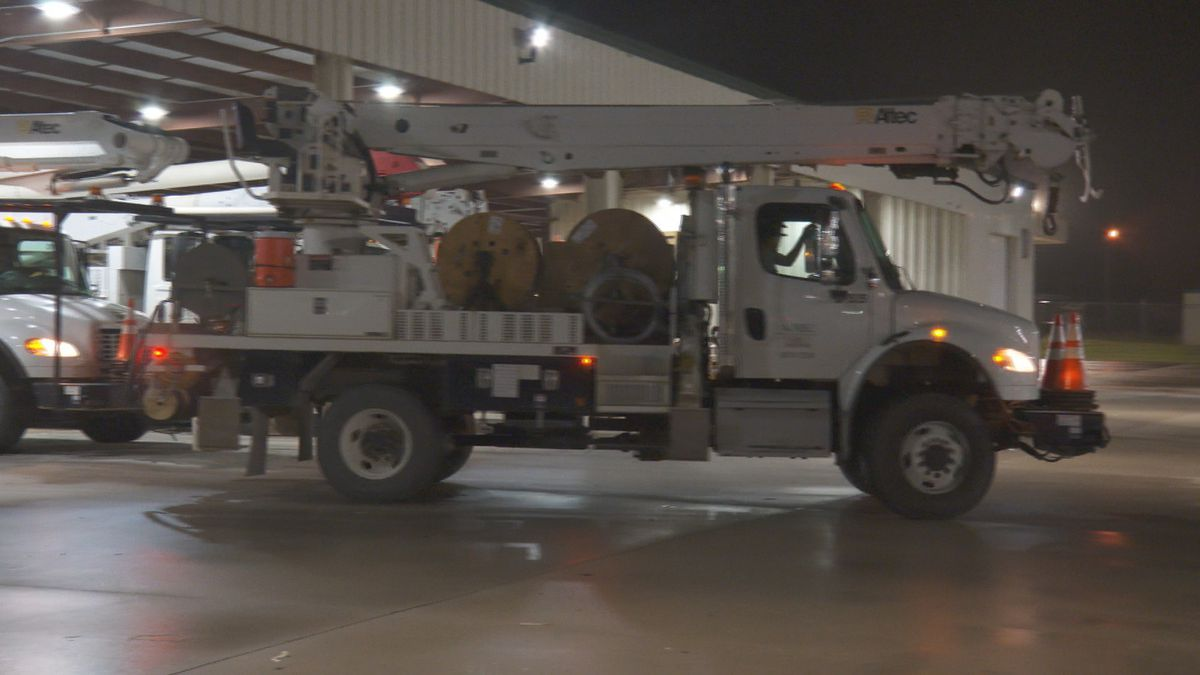 Newberry Electric crew headed to AL to help with more than 77,000 customers without power