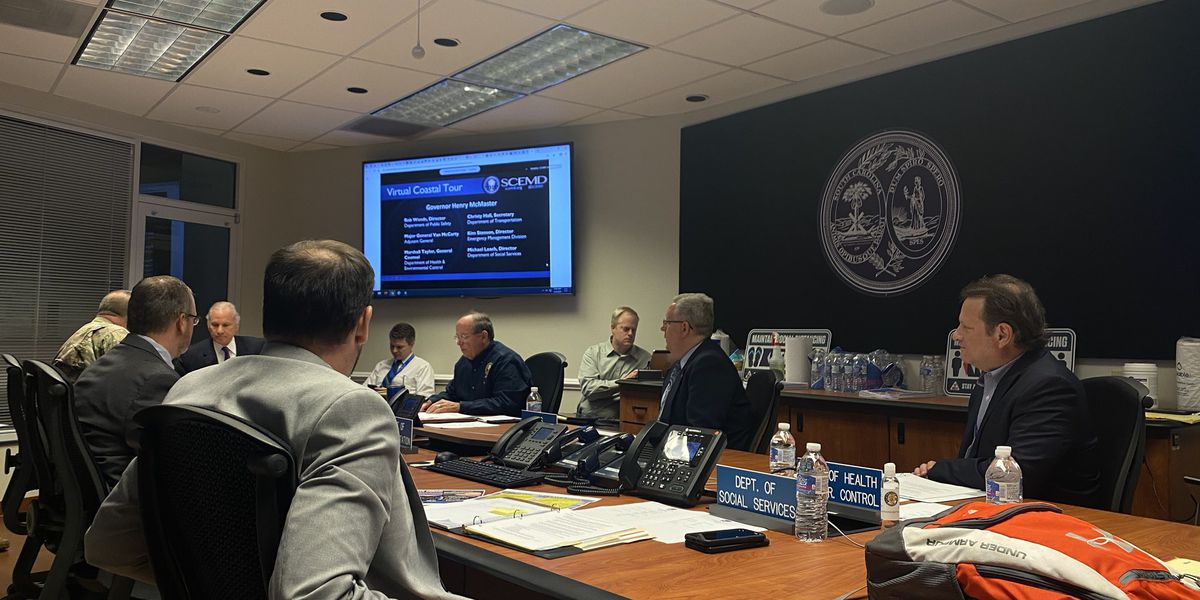 Gov. McMaster talks hurricane preparedness in midst of COVID-19 pandemic, protests and reform efforts