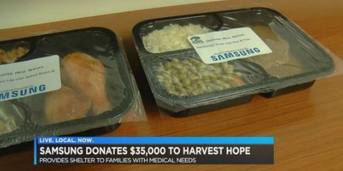 Samsung donation will provide thousands of meals during 2018 hurricane season