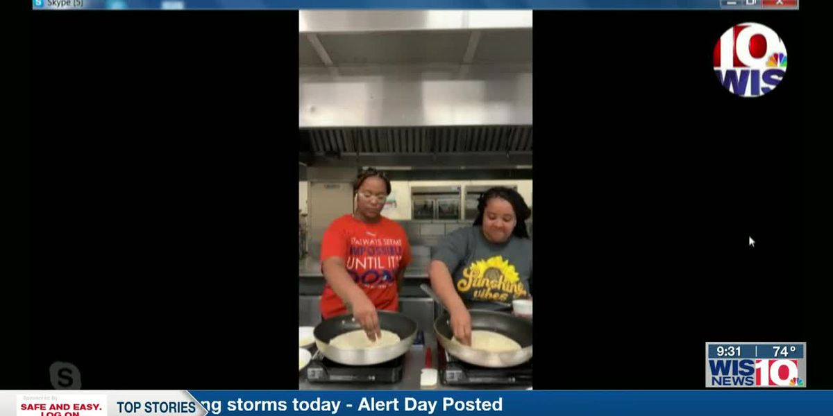 WIS TODAY: Chef Aris Woodward and student Amari Sims give cooking demo on WIS Today