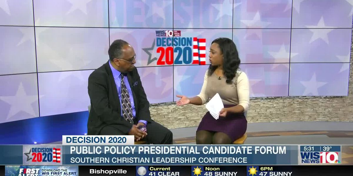 SCLC hosts Democratic Presidential candidate and policy forum